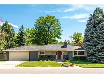 Denver Single Family Home Under Contract: 2460 East Flora Place