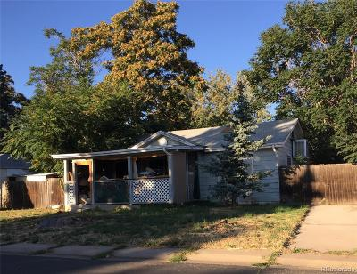 Denver Single Family Home Under Contract: 4459 Raritan Street