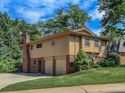 Denver Single Family Home Active: 6528 East Milan Place