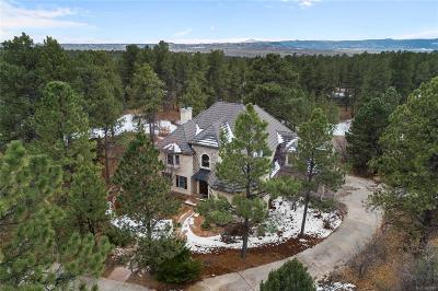 Castle Rock CO Single Family Home Active: $1,295,000