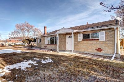 Thornton Single Family Home Under Contract: 9390 Ellen Court