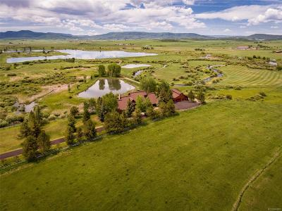 Steamboat Springs Single Family Home Active: 32735 Highway 131