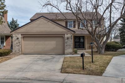 Centennial Single Family Home Under Contract: 6701 South Kearney Court