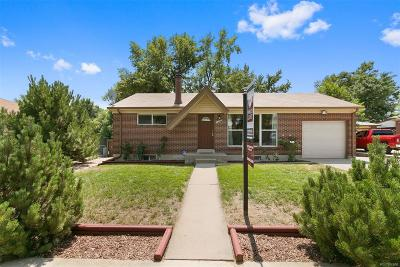 Northglenn Single Family Home Under Contract: 1306 East 111th Place