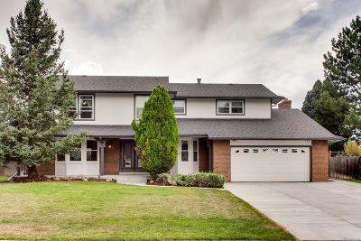 Centennial Single Family Home Active: 7851 South Clayton Way