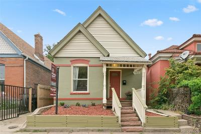 Denver Single Family Home Active: 547 Cherokee Street