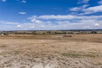Parker CO Residential Lots & Land Active: $650,000