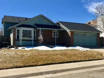 Arvada Single Family Home Under Contract: 6276 West 68th Place