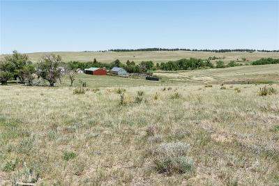 Kiowa CO Residential Lots & Land Active: $149,950 List Price
