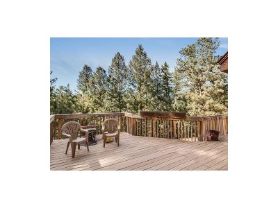 Morrison Single Family Home Under Contract: 8036 South Deer Creek Canyon Road