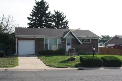 Northglenn Single Family Home Under Contract: 10852 Northglenn Drive