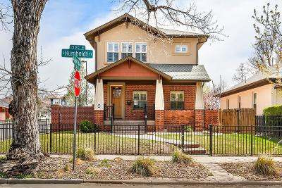 Denver Single Family Home Active: 302 South Humboldt Street