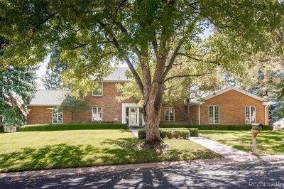 Cherry Hills Village CO Single Family Home Active: $1,895,000