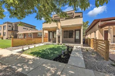 Denver Condo/Townhouse Active: 3643 Pecos Street