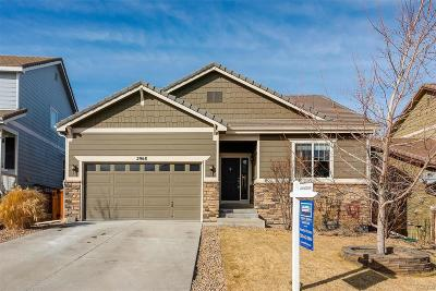 Castle Rock Single Family Home Under Contract: 2968 Deerfoot Way