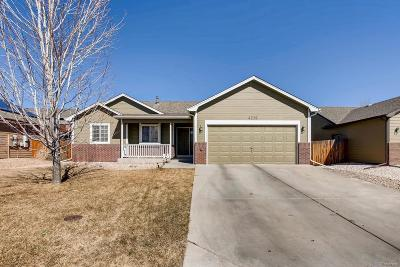 Greeley Single Family Home Under Contract: 4219 West 30th St Pl