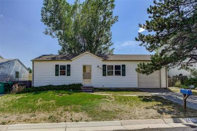 Westminster Single Family Home Under Contract: 10640 West 106th Place