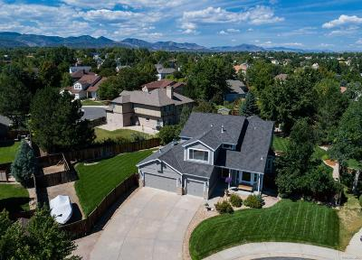Littleton Single Family Home Under Contract: 7673 South Allison Court