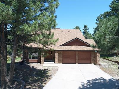 Parker Single Family Home Under Contract: 8369 Lightening View Drive