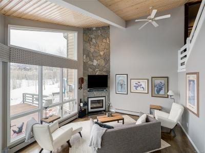 Steamboat Springs Condo/Townhouse Active: 1871 Highland Way
