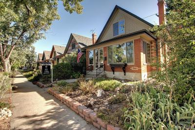Denver Single Family Home Active: 1464 South Grant Street