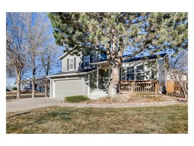 Aurora Single Family Home Under Contract: 19601 East Utah Place