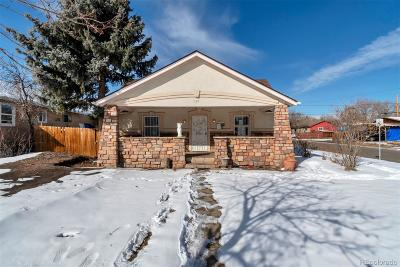 Denver Single Family Home Active: 101 South Lowell Boulevard