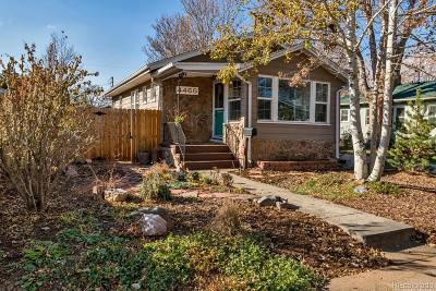 Denver Single Family Home Under Contract: 4465 Meade Street