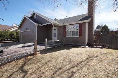 Highlands Ranch, Lone Tree Single Family Home Under Contract: 1186 Cobblestone Drive