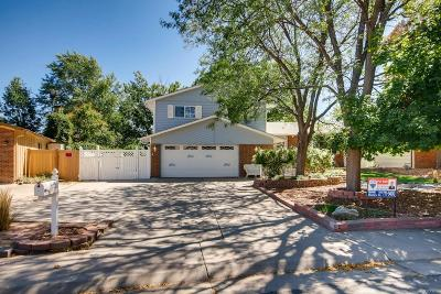 Aurora CO Single Family Home Under Contract: $354,900
