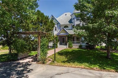 Parker Single Family Home Under Contract: 12291 North Delbert Road