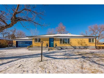 Wheat Ridge Single Family Home Under Contract: 4157 Ingalls Court