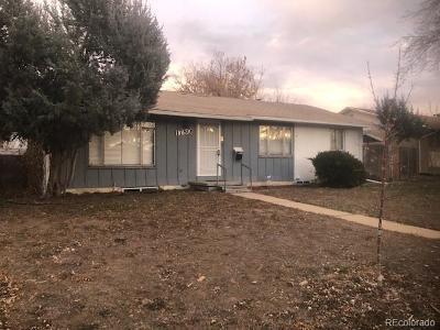 Aurora Single Family Home Active: 1780 Del Mar Parkway