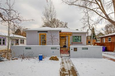 Denver CO Single Family Home Active: $530,000