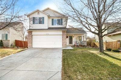 Commerce City Single Family Home Under Contract: 11350 East 116th Drive