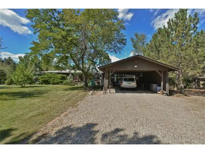 Boulder County Single Family Home Sold: 12911 Sheramdi Street