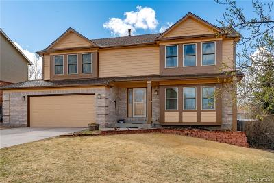 Briargate Single Family Home Under Contract: 8480 Avens Circle