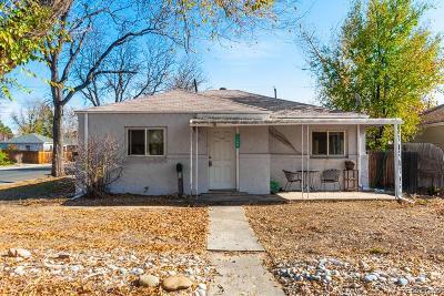 Aurora, Denver Single Family Home Under Contract: 1190 Emporia Street