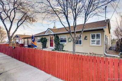 Denver Single Family Home Active: 2520 West 65th Street