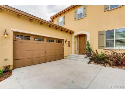 Lone Tree Single Family Home Active: 10565 Montecito Drive