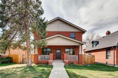 Denver Single Family Home Under Contract: 4037 Newton Street