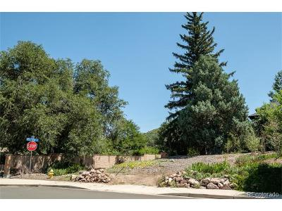 Castle Rock CO Residential Lots & Land Active: $530,000