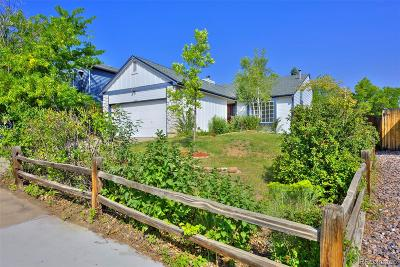 Littleton Single Family Home Under Contract: 10445 Jacob Place