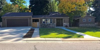Littleton Single Family Home Active: 1642 West Lake Place