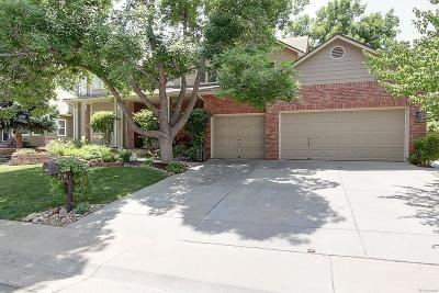 Centennial Single Family Home Under Contract: 3046 East Otero Circle