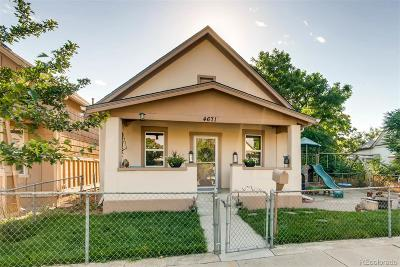 Denver Single Family Home Active: 4671 Logan Street