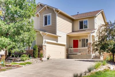 Castle Rock Single Family Home Active: 4287 Prairie Rose Circle