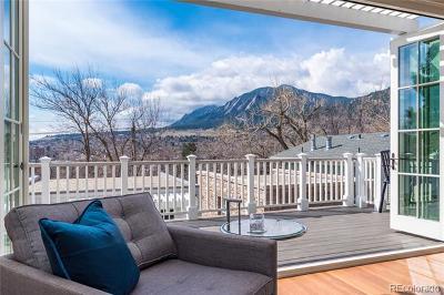 Boulder Single Family Home Active: 1014 Mapleton Avenue
