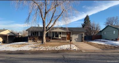 Arvada Single Family Home Under Contract: 7790 Teller Street