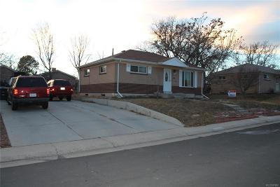 Northglenn Single Family Home Active: 10709 Murray Drive